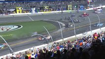 Spectateurs blessés lors de l'accident de NASCAR à Daytona -Coke Zero 400 at Daytona International Speedway.