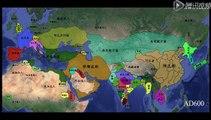 Timelapse de l'évolution des frontières et pays de -3500 à nos jours