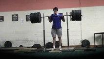 250kg/551lbs Front Squat @100kg