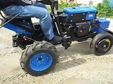 Міні-трактор перероблений з мотоблока