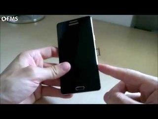 Come inserire nano SIM dentro Samsung Galaxy A5