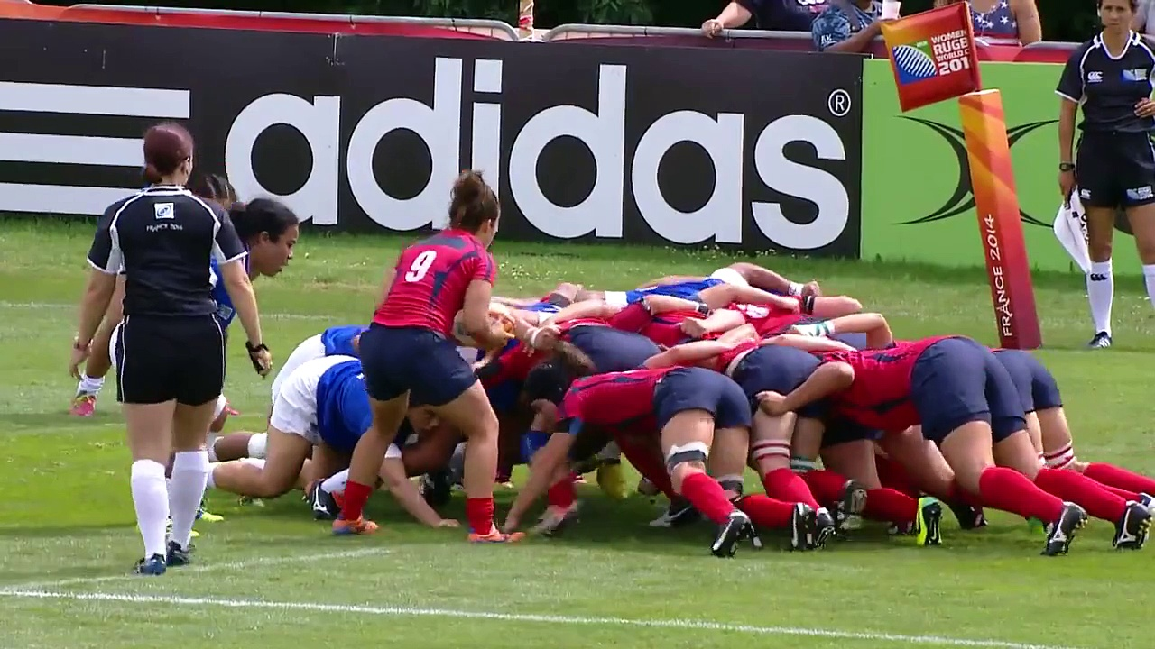 [HIGHLIGHTS[ Spain 41-5 Samoa at Women's Rugby World Cup