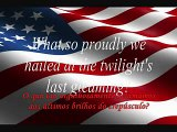 Tradução Hino Nacional dos Estados Unidos da America- USA Anthem