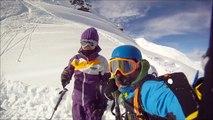 méribel ski poudreuse II