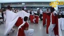 Flash mob Golden Star Events à l'aéroport international de Djerba-Zarzis