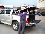 At www.accessories-4x4.com: Toyota Hilux 4x4 Vigo sport cover roll bar 2010 2011 offroad accessories