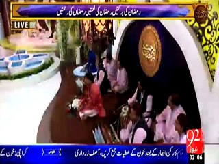 Rehmat e Ramazan - 03 Ramazan – Sehr – Tilawat – 21-JUN-15 – 92 News HD