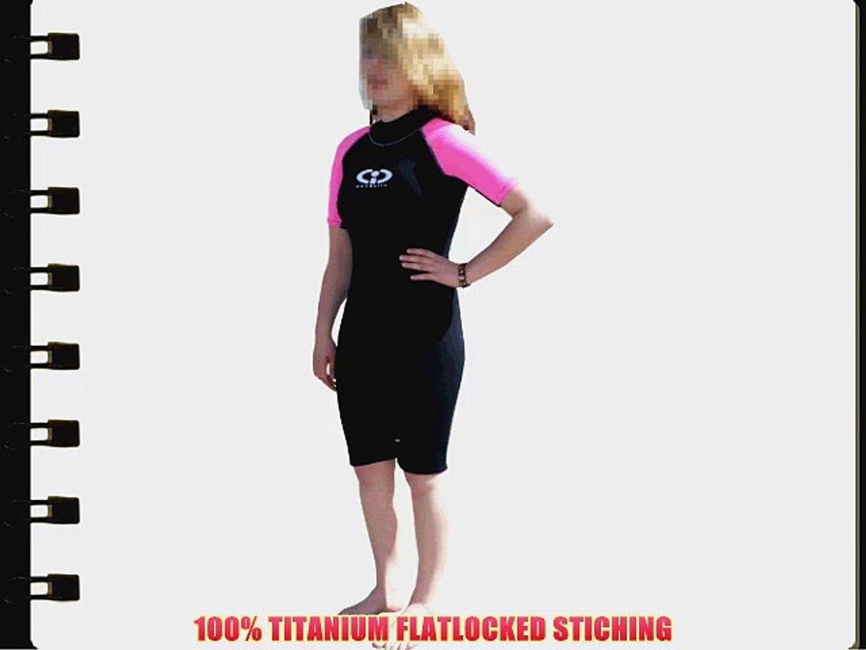TWF Turbo Womens Shortie Wetsuit