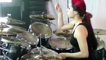 "Lux Drummerette - Sepultura ""Arise"" - Drum Cover"