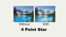 Polaroid Optics Rotating 4 Point Star Filter For The Nikon D40, D40x, D50, D60, D70, D80, D90, D10