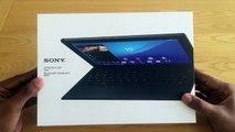 Sony Xperia Z4 Tablet : unboxing de la tablette