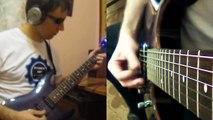 Rammstein - Rosenrot (Rhythm guitar medley by Serj Morozov)