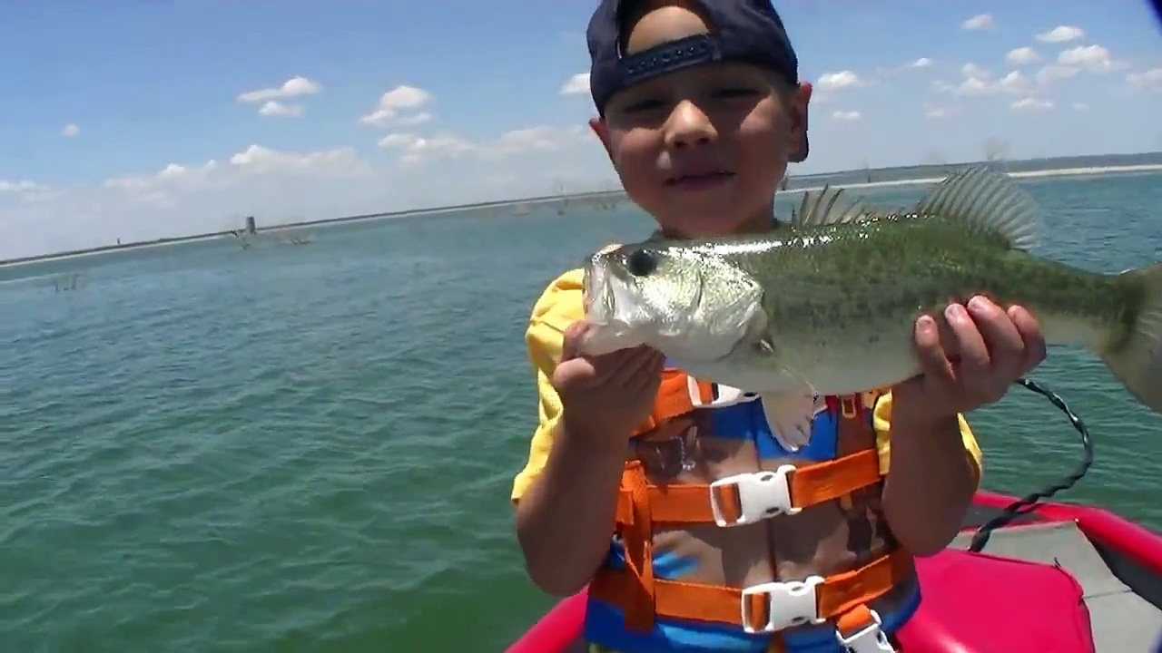 Kids Bass Fishing
