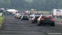 EPIC Launch Control in a 1000HP Nissan R35 GTR MTB Godzilla
