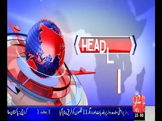 Headlines 03-07-2015-2300 - 92 News HD