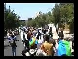 1 Mai Manifestation Amazigh à Agadir  imazighn berbere maroc tamazight اكادير امازيغن