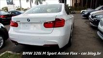 NEW BMW 320i M Sport 2015 Active Flex   detalhes   www car blog br