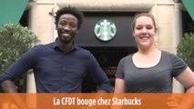 La CFDT bouge chez Starbucks