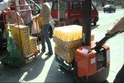Entregan 6 toneladas de alimentos a un comedor social