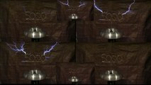 """5000 Subscriber Special - Celebration """"Acapella style"""" on Musical Tesla Coil"""