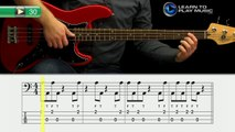 Ex030 How to Play Bass Guitar   Slap Bass Guitar Lessons for Beginners