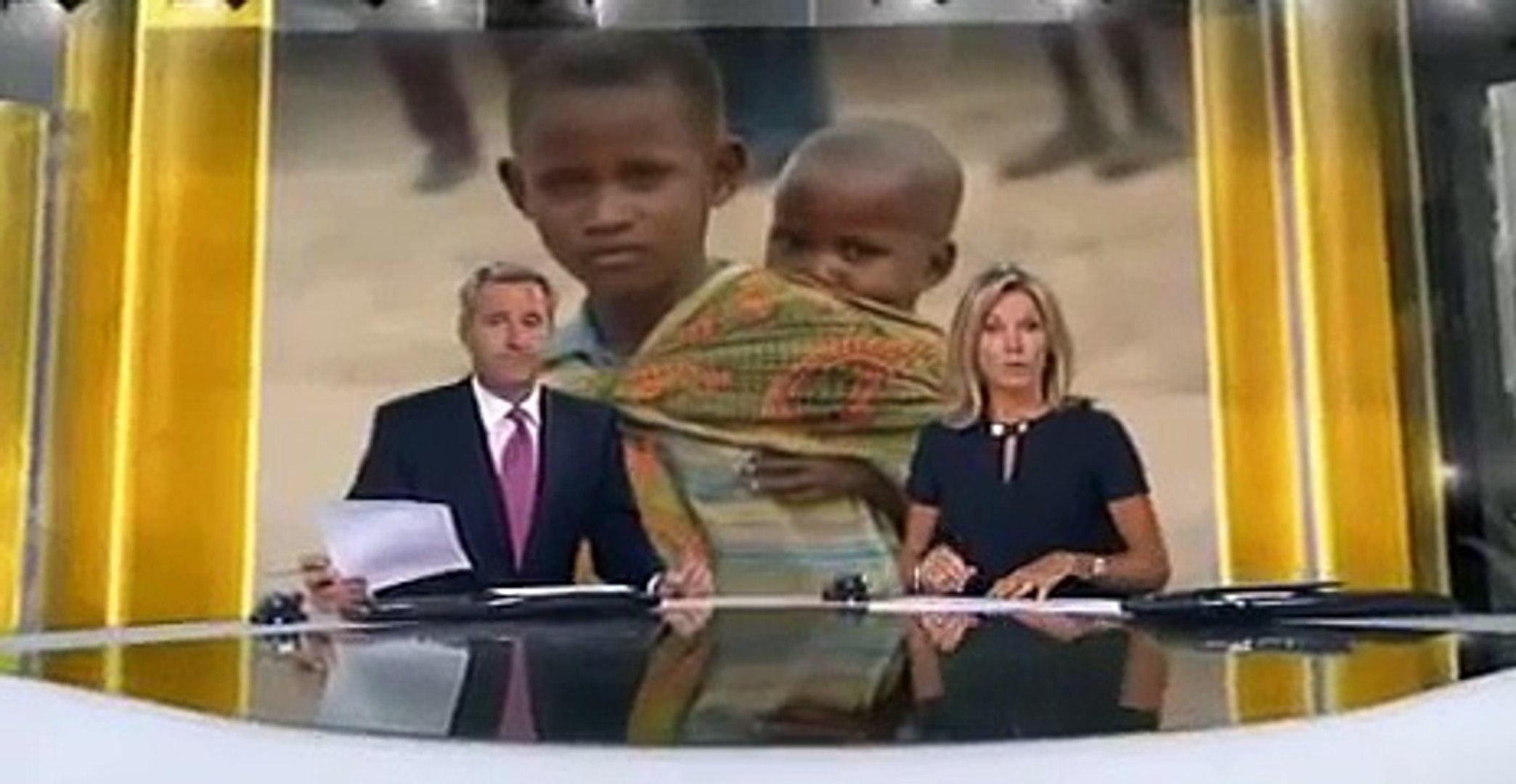Africa famine: ITV News in Turkana