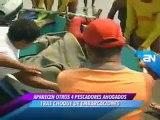 AMERICA NOTICIAS 19-04-2011 APARECEN OTROS 4 PESCADORES AHOGADOS TRAS CHOQUE DE EMBARCACIONES