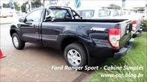 NEW Ford Ranger Sport   www car blog br