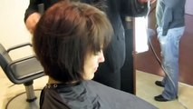 "Stunning Long Hair to Short Makeover, by Christopher Hopkins ""The Makeover Guy"""