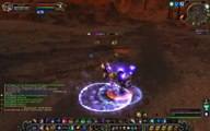 Vanilla WoW 60 Mage Tyrs Hand Elite AoE Farming - video