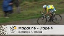 Magazine - Nibali vs. Contador - Stage 4 (Seraing > Cambrai) - Tour de France 2015