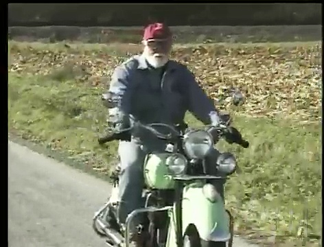 1947 Indian Chief Motorcycle (#1) – Fly/In Cruise/In