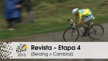 Revista - Nibali vs. Contador - Etapa 4 (Seraing > Cambrai) - Tour de France 2015
