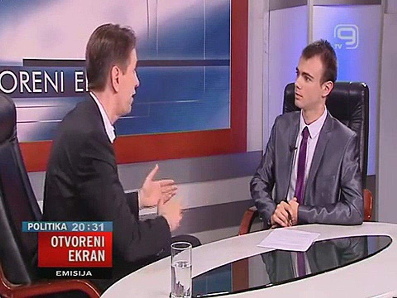 TV KANAL9, NOVI SAD: OTVORENI EKRAN 17.07.2014. Saša Radulović