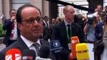 """François Hollande : """"Les décisions sur la Grèce doivent être prises dans la semaine"""""""