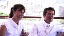 Guillaume Canet et Marina Hands au Jumping International de Monte-Carlo en exclusivité pour Sport&Style Magazine.