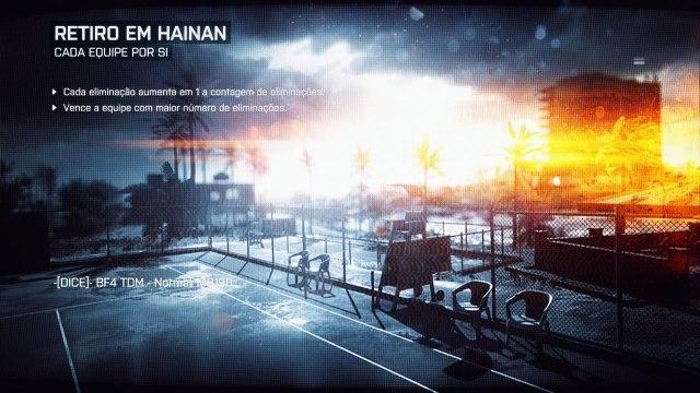 Battlefield 4 Multiplayer #8 - Team DeathMatch em Retiro em Hainan (BF4 em Português PT-BR)