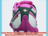 Brooks Womens Purecadence 3 W Running Shoes 1201541B801 White/Fuschia/Anthracite 4 UK 36.5