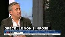 Alexis Corbière invité pour le NON de la Grèce sur  LCI le 06/07/2015