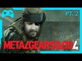 [Especial MGS] Metal Gear Solid 4: Parte 2 - Gameplay ao vivo!