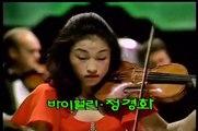 Kyung Wha Chung plays Bruch violin concerto 3rd mov.