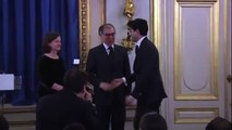 Cérémonie de remise des diplômes aux élèves étrangers de l'ENA (23/04/2014)
