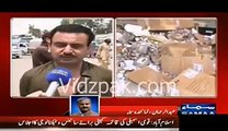 Nowshera Citizens Attacked WAPDA Office _ Blocked GT Road As Protest Against Load Shedding