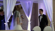"""Best Wedding Vows Ever! Bride Surprises Groom by Singing """"All of Me"""" by John Legend."""
