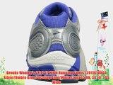 Brooks Women's Ariel 12 Wide Running Shoes 1201161D604 Silver/Ombre Blue/Dazzling Blue/White/Lunar
