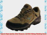 Womens GOLA LEATHER Waterproof DRI-TEX Outdoor Hiking Walking Work Boots Shoes