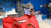 Airplane/Travelling Video! Hair, makeup, outfit + Travelling essentials |  Renée Brandsen