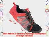 Ladies Womens Hi-tec Flyaway Lightweight Running Fitness Sports Gym Trainers (4)
