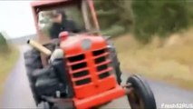 Tractor Burnout Rednecks have more fun WIN || WOF