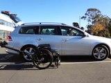 Abiloader delivers TiLite wheelchair in VW Passat 2012